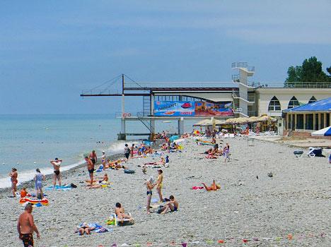 лазаревское фото города и пляжа 2016